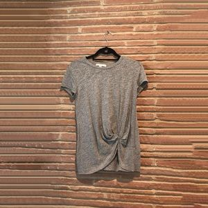 Stateside!! super soft front knot T!